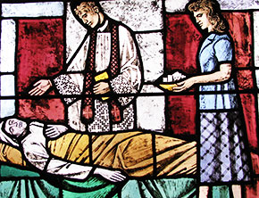 St. Joseph's Basilica Anointing The Sick